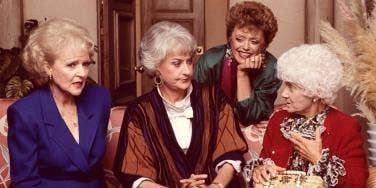 golden girls women aging marriage divorce widowed single
