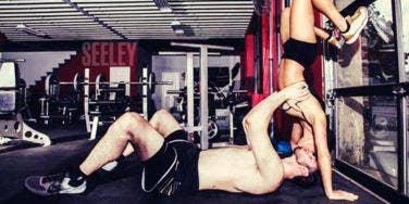 gym couple