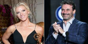 Are Jon Hamm and Lindsay Shookus Dating?