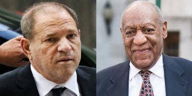 Harvey Weinstein and Bill Cosby