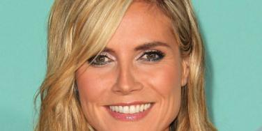 Heidi Klum close-up