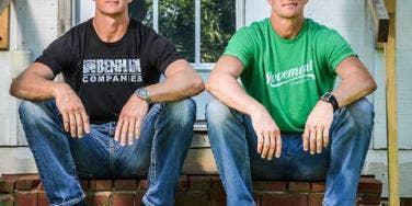 David Benham and Jason Benham of HGTV 'Flip It Forward'