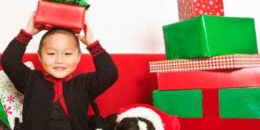 kid holiday gift overload
