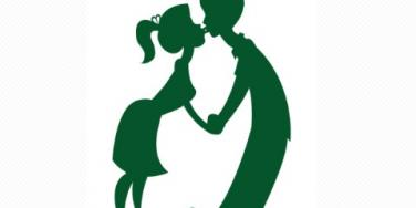 couple kissing holiday mistletoe christmas