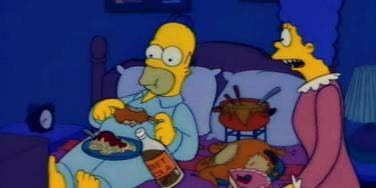 Homer & Marge