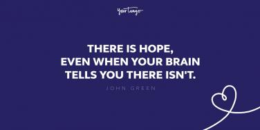 john green quote about hope