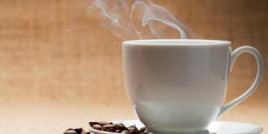 delicious cup of hot coffee