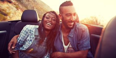 couple embracing laughter and humor in life