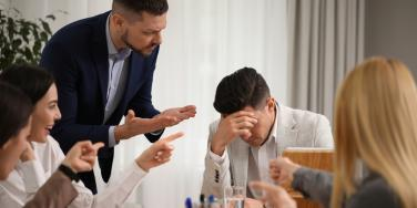 toxic coworkers arguing