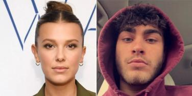 Millie Bobby Brown and Hunter Echo