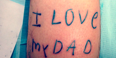 Tattoos Inspired By Kid Drawings