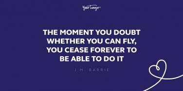 jm barrie imagination quote