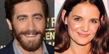 Jake Gyllenhaal and Katie Holmes