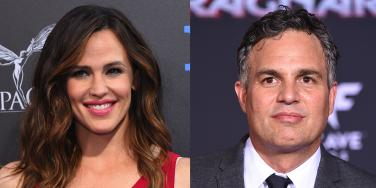 Jennifer Garner and Mark Ruffalo