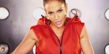 "Jennifer Lopez (J. Lo) in her video for ""I Luh Ya Papi"""