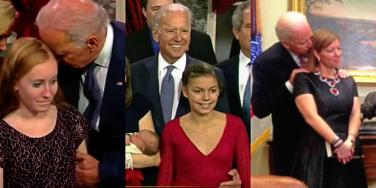 What Did Joe Biden Do? Why Handsy Groping, Unwanted Contact & Inappropriate Touching Are Unacceptable