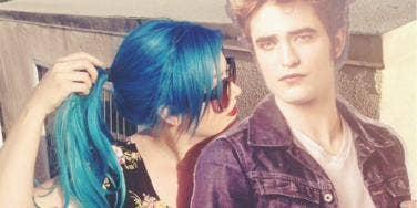 Lauren-Cullen and Edward-Cullen Cutout