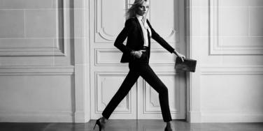 model strutting