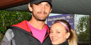 Kaley Cuoco & Ryan Sweeting