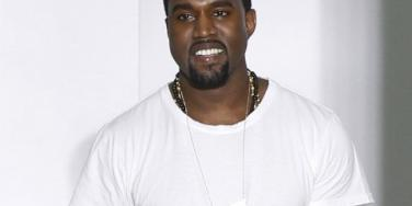 Kanye West walks runway
