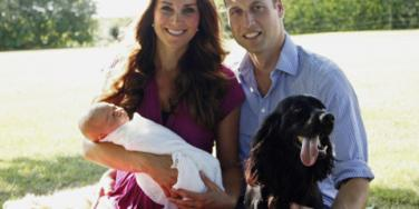 Kate Middleton, Prince William, Prince George & Lupo