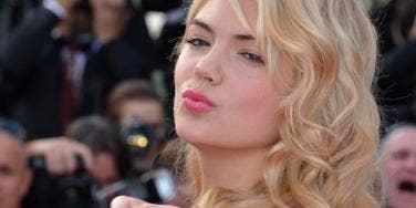 Kate Upton kisses