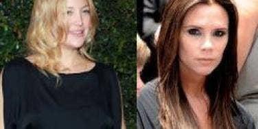 Kate Hudson and Victoria Beckham