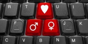 male female keyboard keys