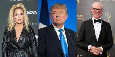 Khloe Kardashian Donald Trump Tim Gunn