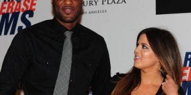 Lamar Odom & Khloe Kardashian Odom