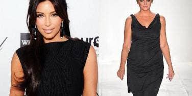 Kim Kardashian and Kirstie Alley