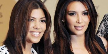 Kim Kardashian & Kourtney Kardashian