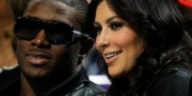 Kim Kardashian with Reggie Bush