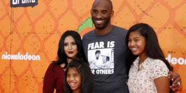 Kobe Bryant, Vanessa Bryant, Gianna Bryant and Natalia Bryant