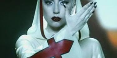 Lady Gaga in 'Alejandro' video