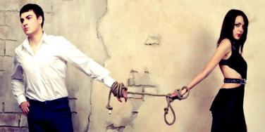 chain him