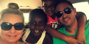 transracial adoption family racism Charlottesville