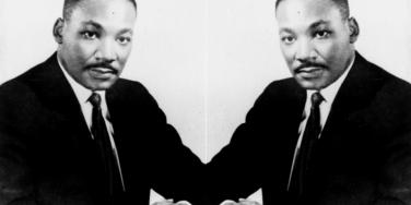 The Reverend Dr Martin Luther King Jr