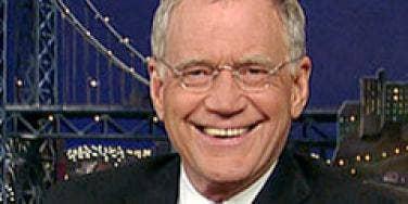 David Letterman extortion
