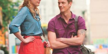 Greta Gerwig as Lola and Joel Kinnaman as Luke in 'Lola Versus.'
