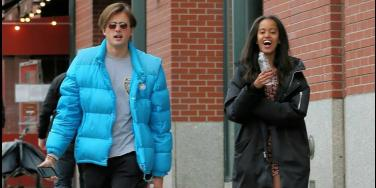 Malia Obama and Rory Farquharson