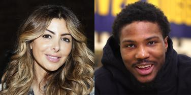 Larsa Pippen and Malik Beasley