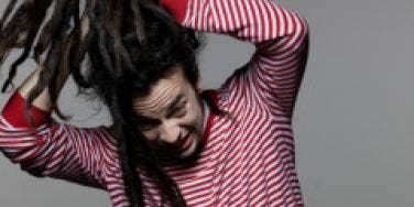 man long hair dreadlock hairstyle