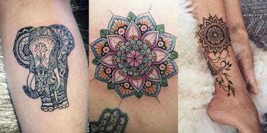 mandala tattoos design ideas