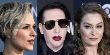 Evan Rachel Wood, Marilyn Manson, Esmé Bianco