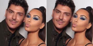 Mario Dedivanovic kim kardashian makeup artist