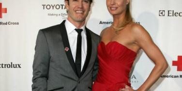 Mark-Paul Gosselaar and Catriona McGinn