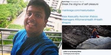 Guy Writes Public Letter To Sister Saying Masturbation Is OK
