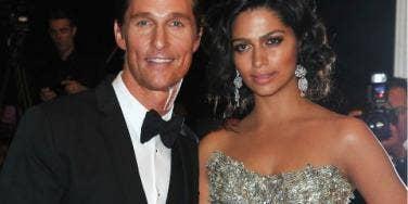 Matthew McConaughey & Camila Alves marrying