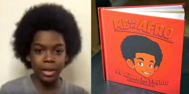 'Me and My Afro' Author Aiden Taylor